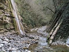 Короткое путешествие по горам причерноморья.  Маршрут: Мамедово ущелье - лесные дебри - перевал - река Аше...