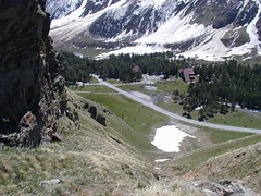 Glaciological station Azau 2