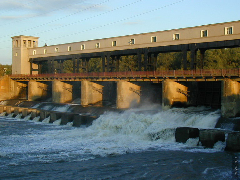 The Belorechensk hydroelectric power plant