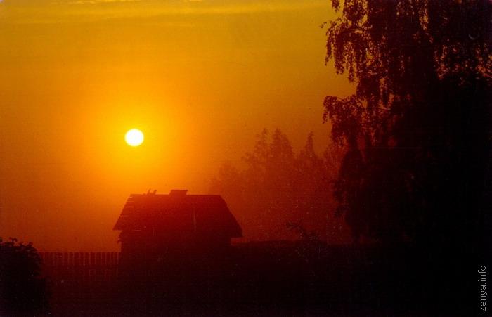 Раннее утро у платформы Новодачная   Из альбома «Долгие ...: http://zenya.info/russia/dolgopa/album.php?img=104