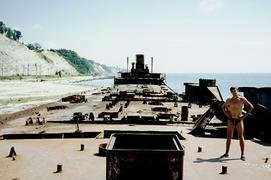 Останки французского танкера Руссильон